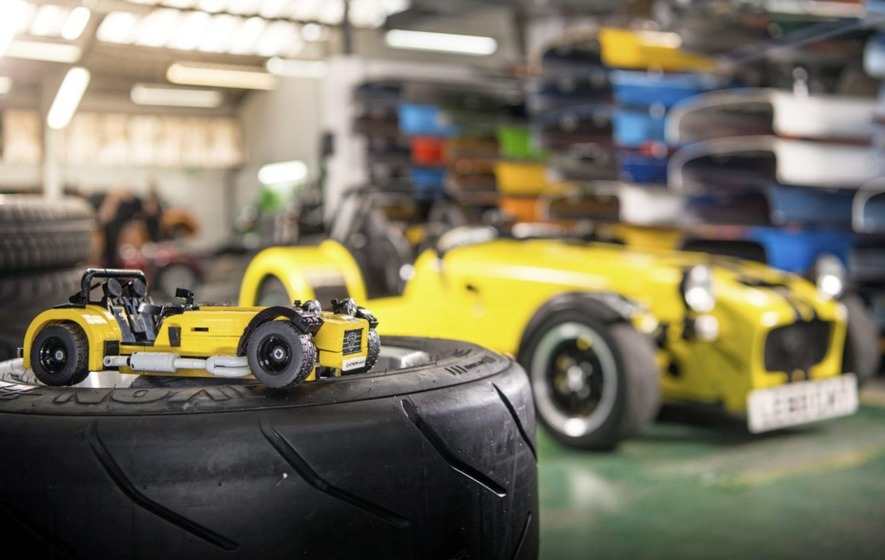 Plastic fantastic as Lego teams up with Caterham for ultimate DIY kit car