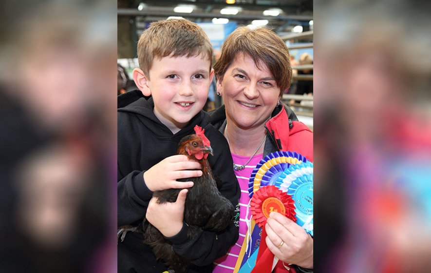 Arlene Foster's son (10) expresses support for shared education