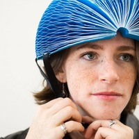 This award-winning paper bike helmet could save your life