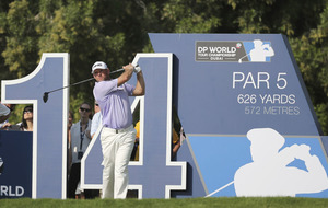 Lee Westwood off to a flier as Rory McIlroy flounders at DP World Tour in Dubai