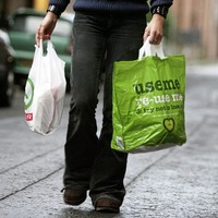 10 per cent of income from plastic bag levy spent on admin costs