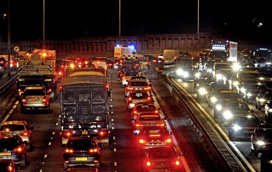 Belfast in top 10 most congested cities in UK