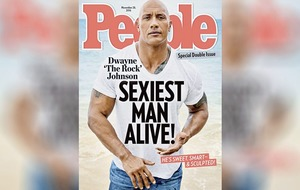 The Rock is People magazine's sexiest man alive