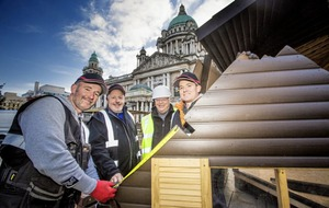 Annual Belfast Christmas Market opens at city hall