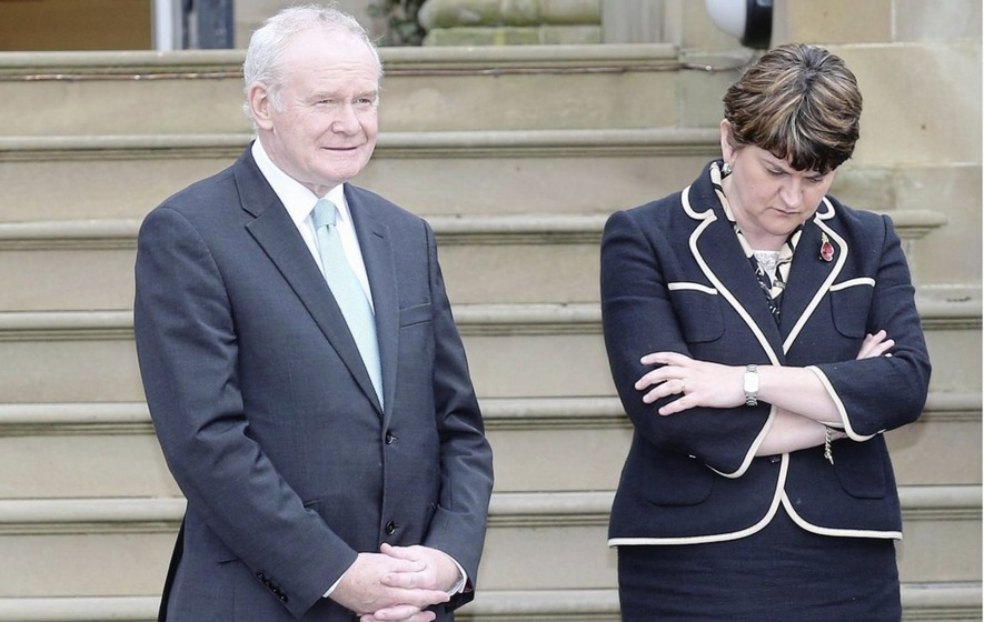 Martin McGuinness equivocal over whether he's discussed special status plan with Arlene Foster
