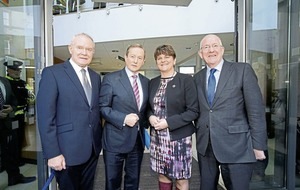 Arlene Foster and Martin McGuinness defend funding scheme