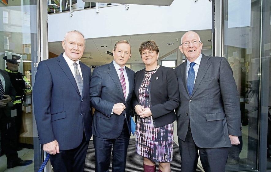 Arlene Foster and Martin McGuinness defend funding scheme