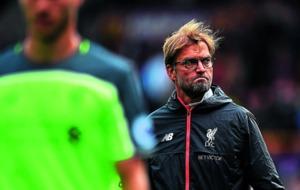 Liverpool manager Jurgen Klopp not worried about being top