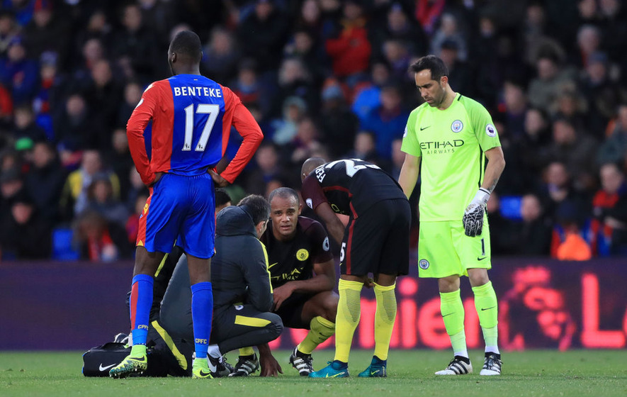 Manchester City plan to treat Vincent Kompany with care