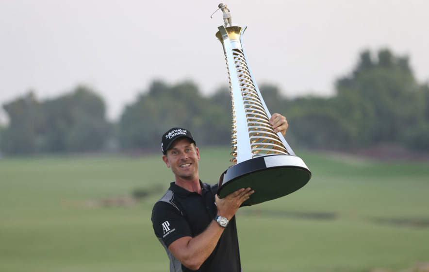 More golf Majors to come says Henrik Stenson after red-hot start to Abu Dhabi HSBC Championship