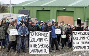 Opponents of proposed Co Tyrone gold mine walk out of a consultation event