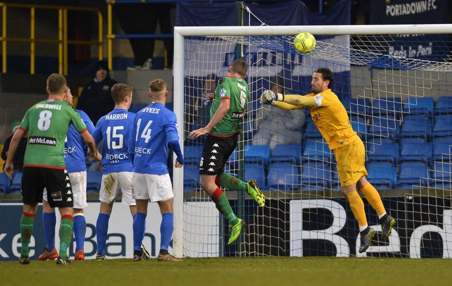 Danske Bank Premiership review: Dungannon hammer Ballymena United