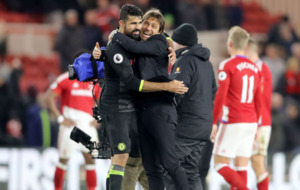 Diego Costa winner puts Chelsea top of the Premier League