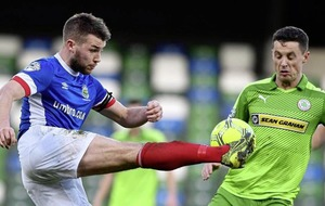 Cliftonville chairman Gerard Lawlor subjected to verbal abuse at Windsor Park