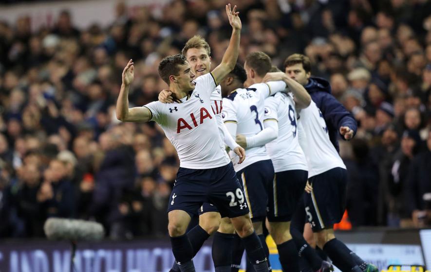 Harry Wink revels in 'unbelievable' debut goal for Tottenham