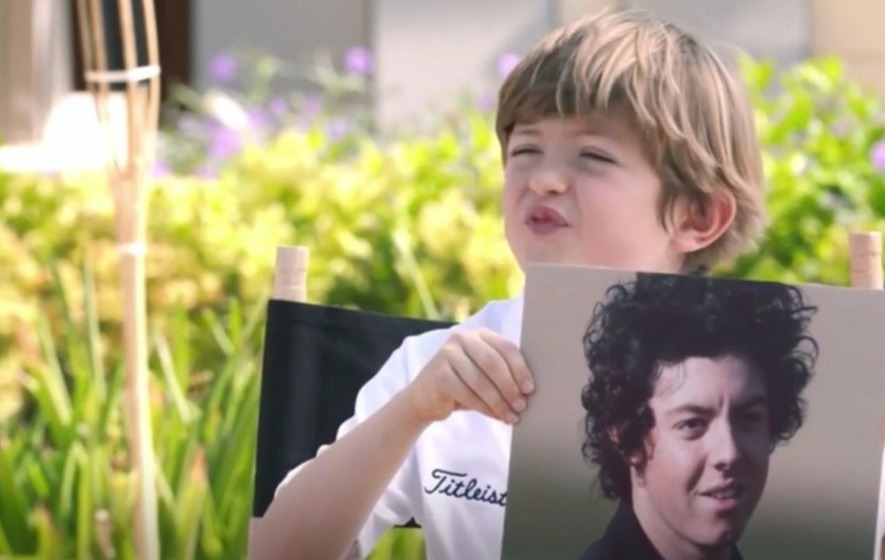 Watch Rory McIlroy squirm in a tough interview with nine-year-old Billy