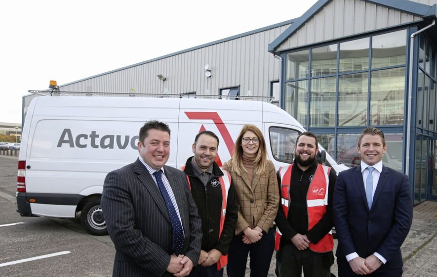 Firms move into Titanic Quarter business park