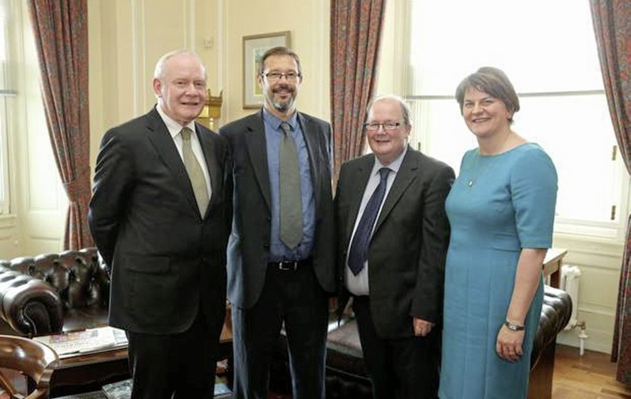 Sinn Féin not concerned about Stormont group chairman's DUP links