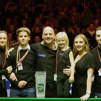 Emotional Northern Ireland Open winner Mark King pays tribute to his family