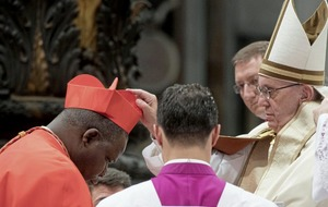 Pope Francis welcomes 17 new cardinals from six continents