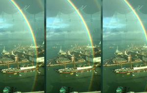 Video: This 360-degree rainbow will make your day