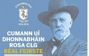 West Belfast club O'Donovan Rossa mark 100th anniversary at Europa Hotel