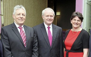 Peter Robinson: Arlene Foster 'has been harshly treated over recent weeks'