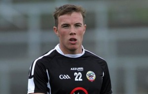 Aidan Branagan is happy to do his talking on the pitch for Kilcoo