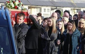 Funeral held for drugs victim Jamie Burns