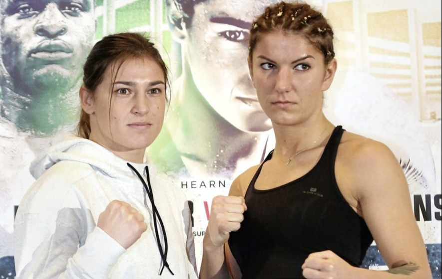 Katie Taylor can change the face of women's boxing says Alanna Audley-Murphy