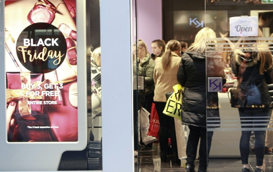 Black Friday shoppers travel far to shop