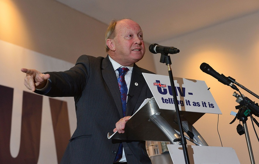 TUV leader Jim Allister dismisses claims of retirement at annual party conference