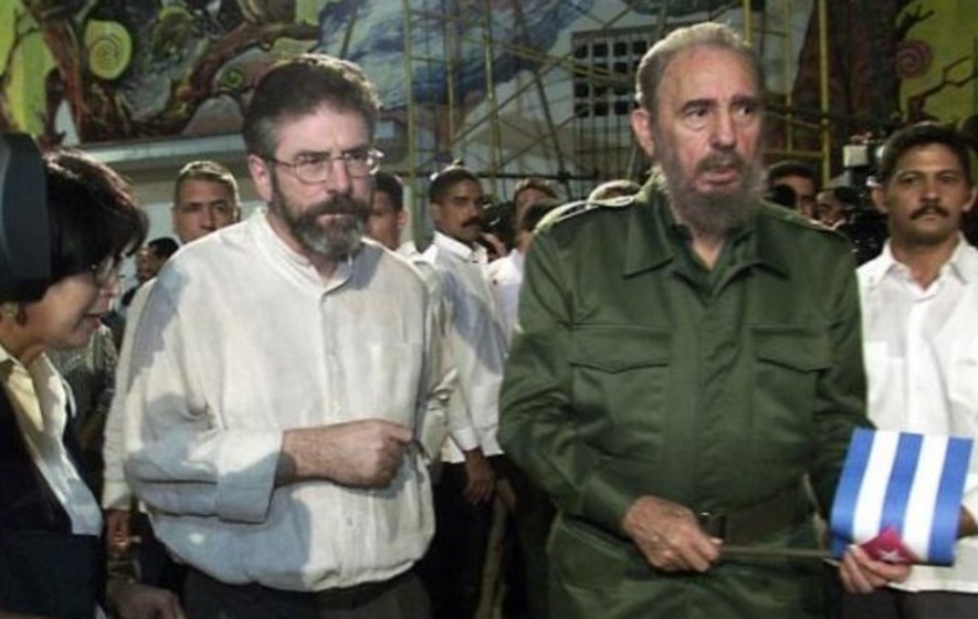 Gerry Adams recalls conversations with Fidel Castro
