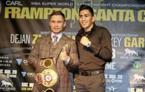 Las Vegas fight night is just the latest step up for unbeatable Carl Frampton