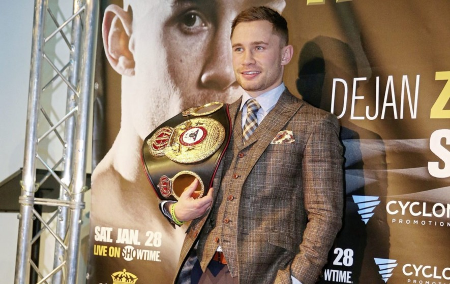 Carl Frampton laughs off omission from Sports Personality of the Year shortlist