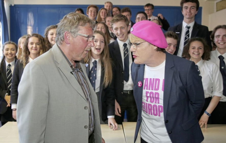 Comedian Eddie Izzard spent £36k campaigning to Remain in EU
