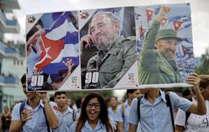 Fidel Castro's ashes begin final four-day journey across Cuba