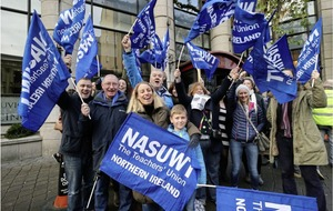 NASUWT starts first wave of 'enough is enough' rolling strike action