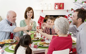 What price the Christmas dinner on your table?