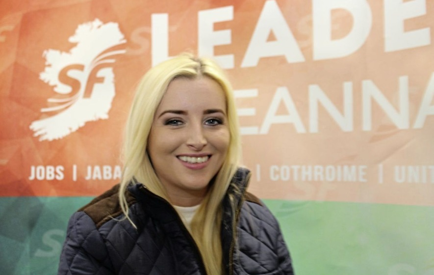 Órlaithí Flynn is new Sinn Féin MLA for West Belfast