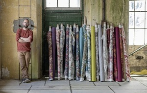 How centuries old Upperlands company is using digital technology to bring luxury linen back to Earth