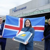 Icelandair launches Reykjavik service from Belfast City Airport
