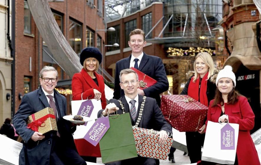 Belfast predicting £10m festive shopping splurge