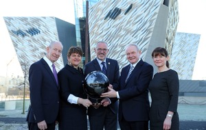 Titanic Belfast: officially the world's leading tourist attraction