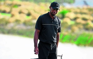 Tiger Woods finds his feet in Bahamas