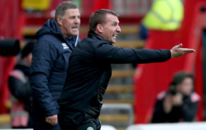 Brendan Rodgers hits back at Mark McGhee after Celtic win thriller at Motherwell