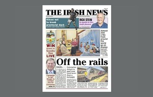 Irish government accused of failing to honour cross-border rail pledge