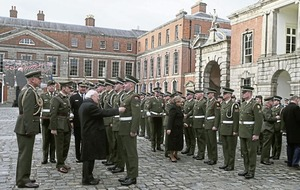 Easter Rising medals presented to Irish Defence Forces in Dublin