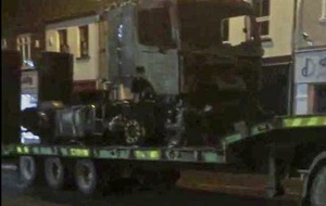 Video: Lorry bursts into flames on Main Street in Lisnaskea in Co Fermanagh