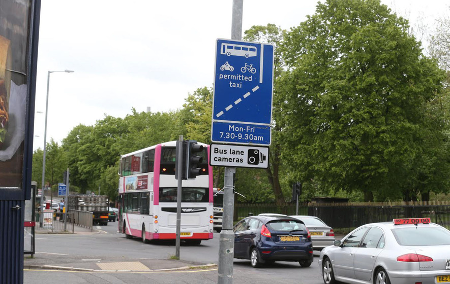 No powers to pursue southern drivers who don't pay bus lane fines